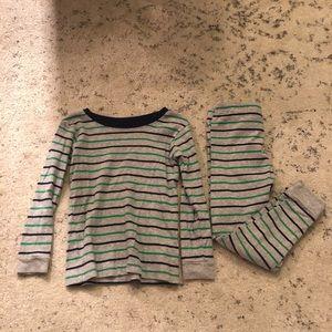 Carters Striped Pajamas